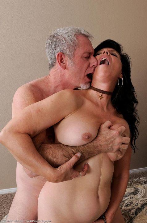 Free mature tit licking